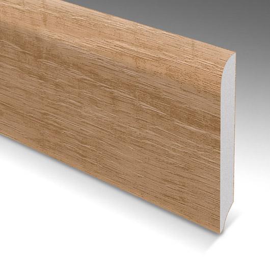 Battiscopa in PVC coordinato 70x10mm – barre da 250cm