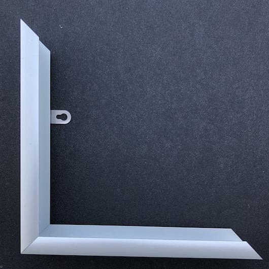 Cornice Nera Opaca 100×140 cm