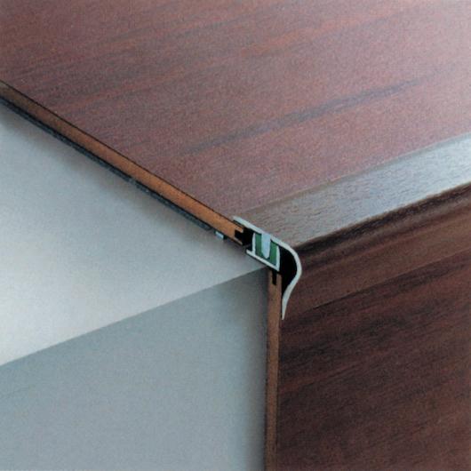Gradino arrotondato coordinato – barre da 270 cm (base non inclusa)