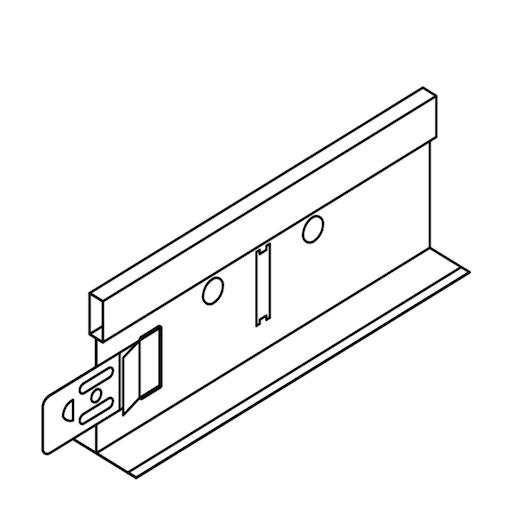 Profilo portante primario bianco – barre da 3700 mm