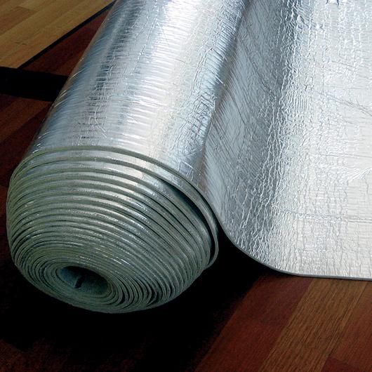Materassino Silversound in gomma naturale su foglio alluminio
