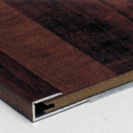 Terminale a vista argento TV  – barre da 270 cm (per spessore 12 mm)
