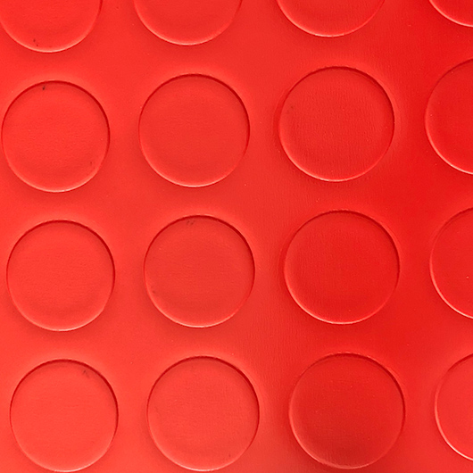 Decorlac studded/metal effect - Rosso