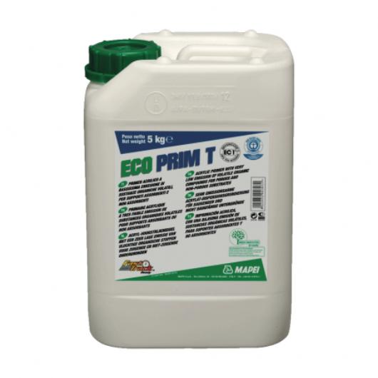 Eco Prim T:primer acrilico esente da solventi