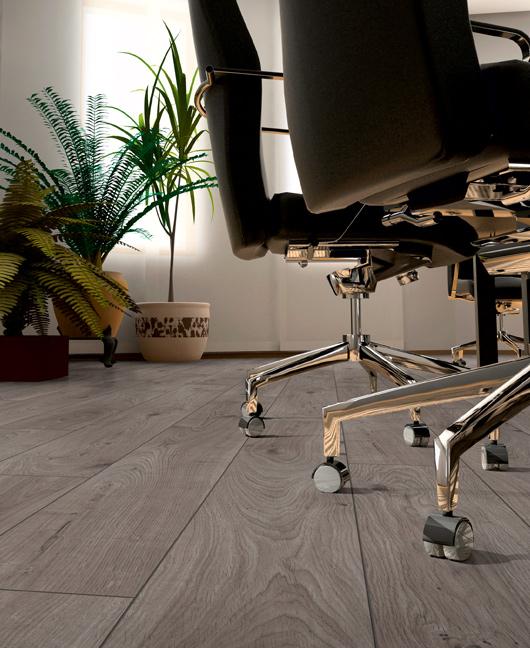Un pavimento effetto legno, ideale per progetti con esigenze di durata e resistenza