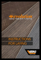 Evolution Air – Instructions for laying